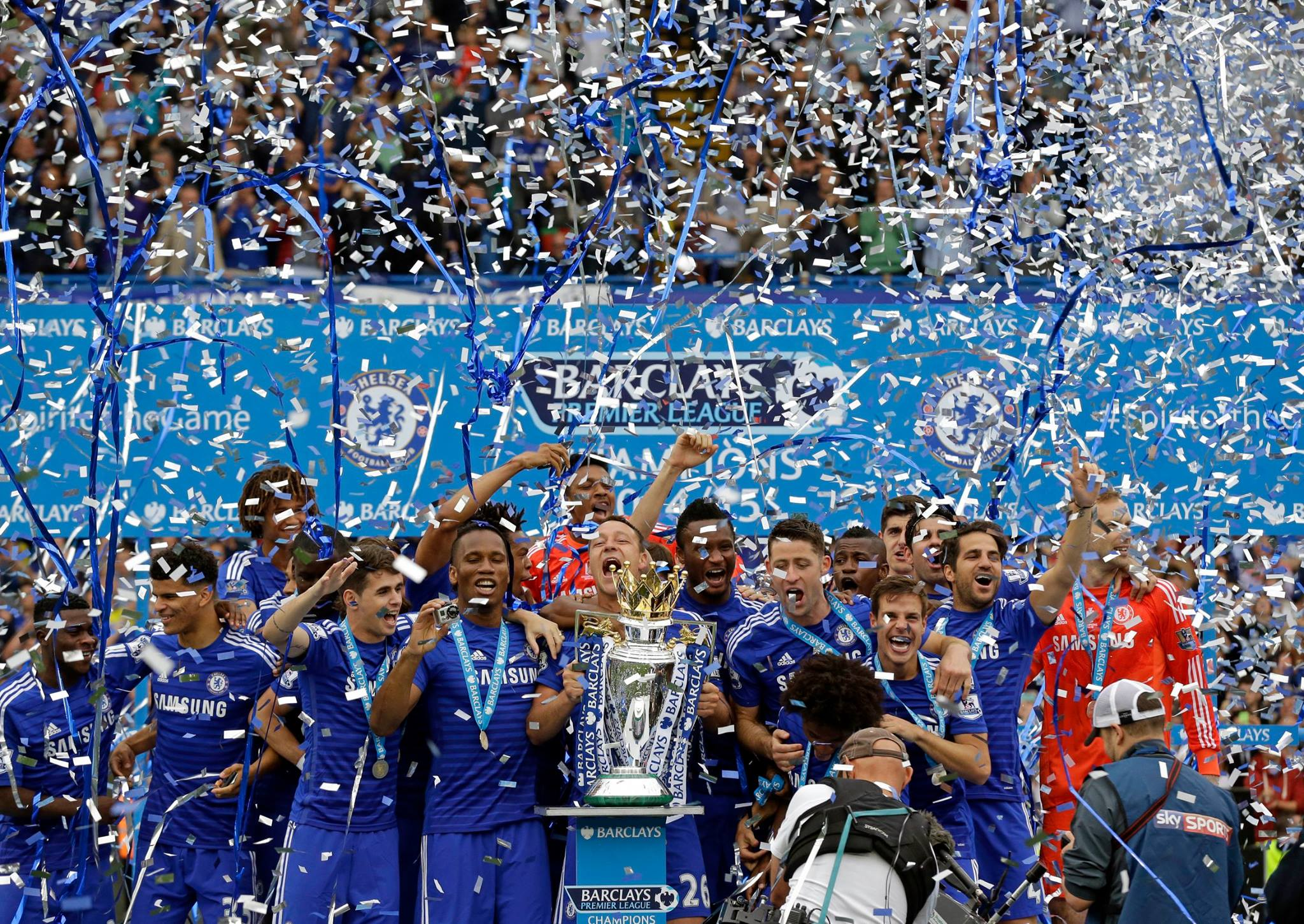 Chelsea FC - Champions of England by @ThomasLundbergP » Chelsea News