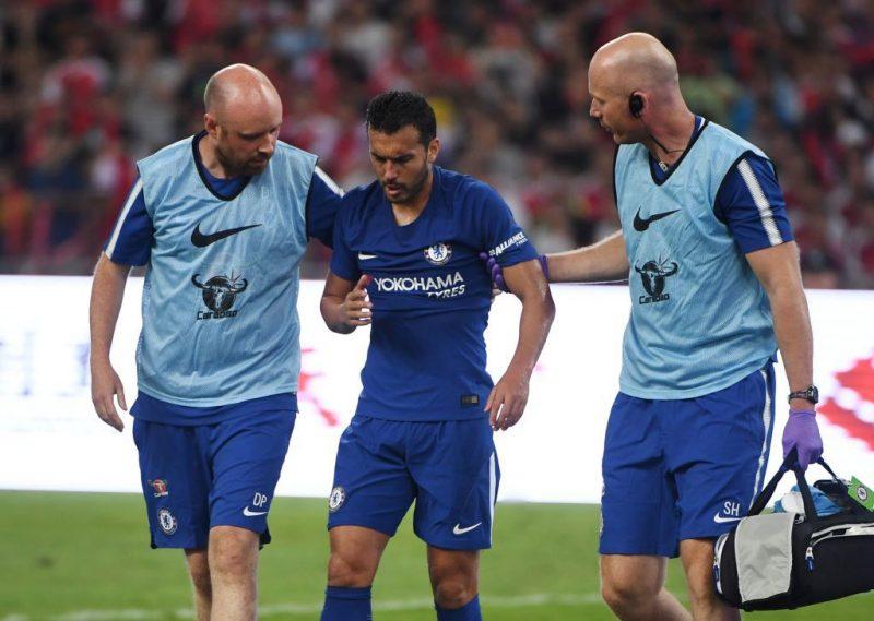 Pedro injured