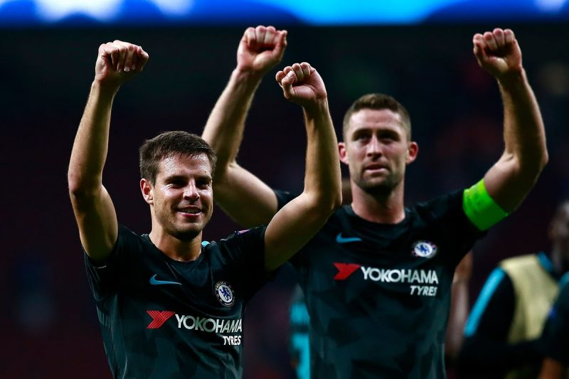 Chelsea's two captains under Antonio Conte