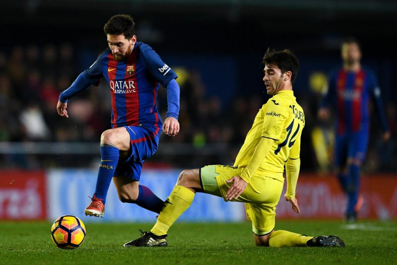 Messi and Trigueros