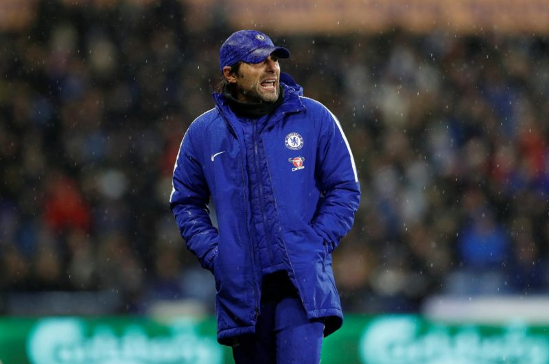 Conte against Huddersfield