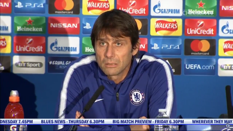 conte angry