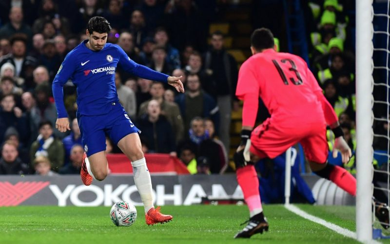 morata in action