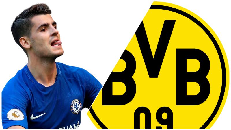 Alvaro Morata BVB