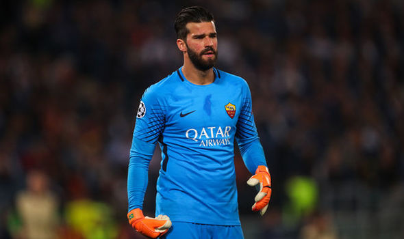 Chelsea and Liverpool are both fighting for Alisson's signature this summer.