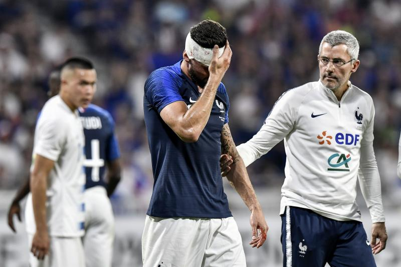 Injured in France duty
