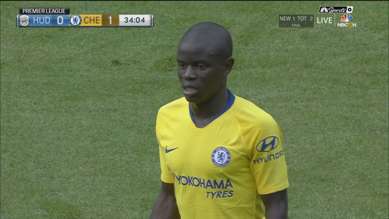 (Image): N'Golo Kante tells Arsenal fan one word that gets ...