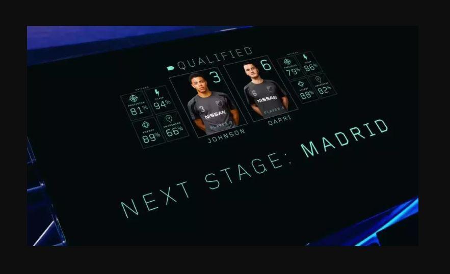 Next stage: Madrid