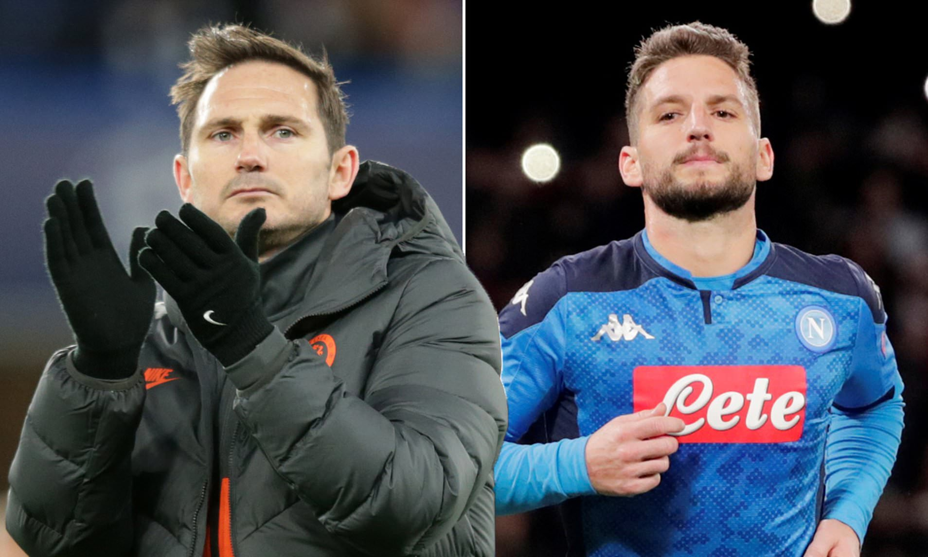 Frank Lampard S Contact With Dries Mertens On Instagram Raises Eyebrows Chelsea News
