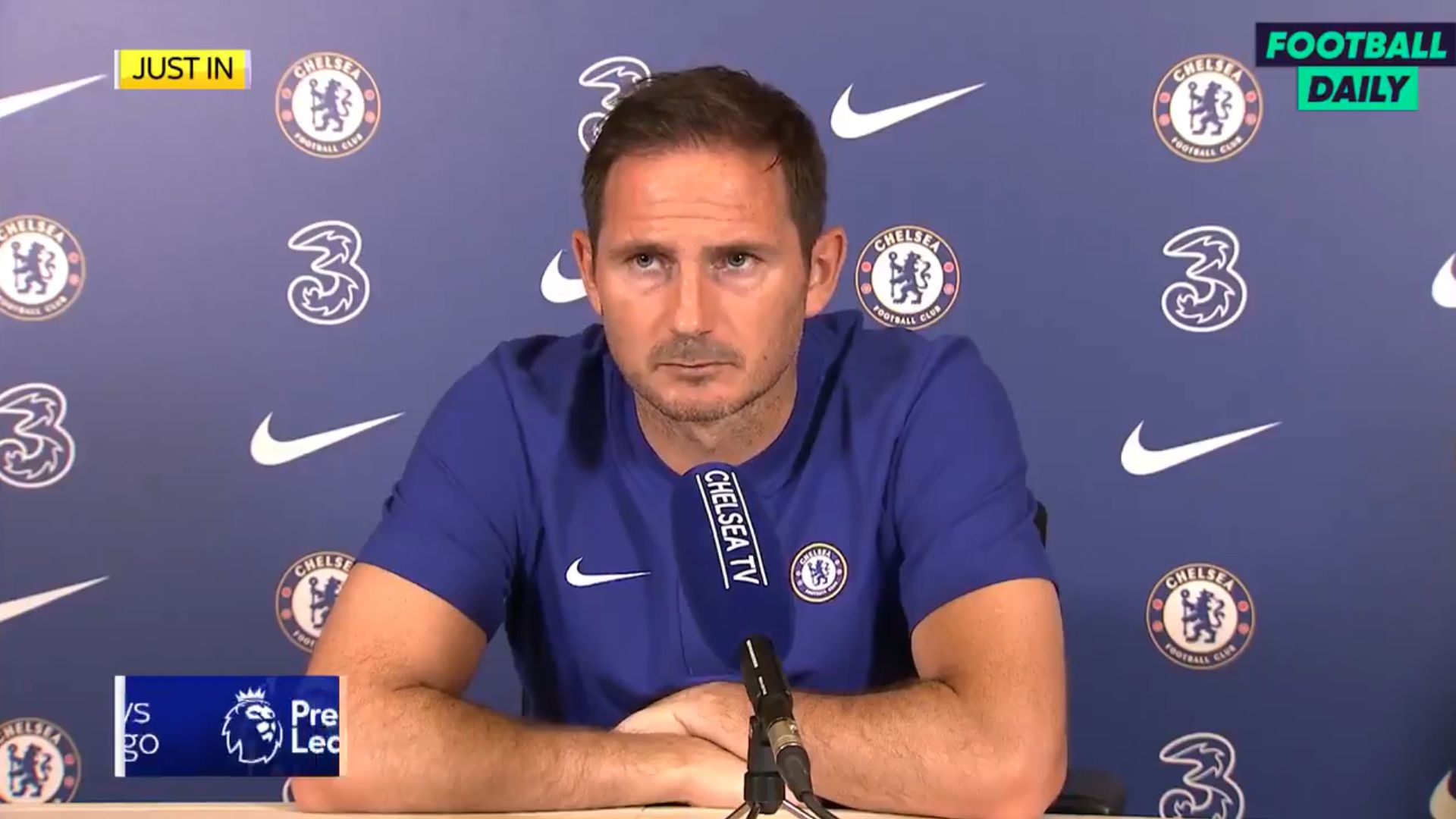 Video): Frank Lampard focused on closing the gap not winning the title »  Chelsea News
