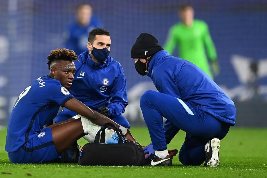 """Tammy Abraham's bad ankle still not """"100%"""" as forward doesn't make the bench  » Chelsea News"""