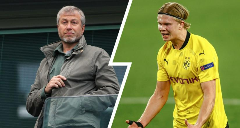 Roman Abramovich releases cash for the purchase of Dortmund star, Erling Haaland for £150m