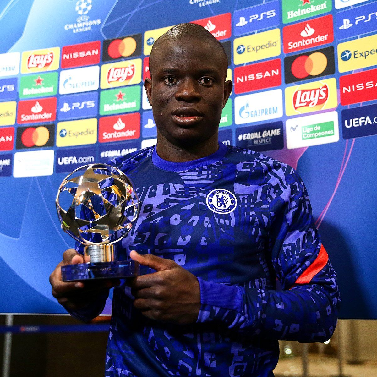 N'Golo Kante wins Champions League Player of the Week after dominant  showing against Real Madrid » Chelsea News